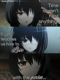 True...<3  Anime: Another