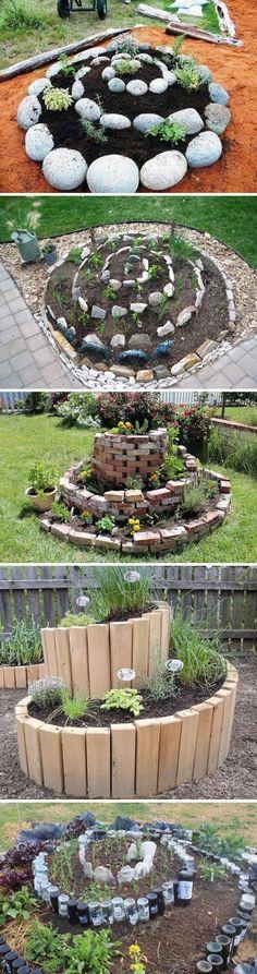 Spiral Raised Garden Bed.                                                                                                                                                      More