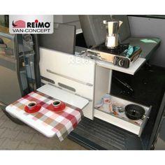 Keuken voor VW T5 schuifdeur