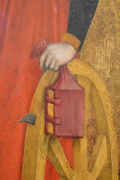 """A """"Girdle Book"""" was a small book made with a special binding that made it easier for its owner to carry the book with them in the medieval ages."""