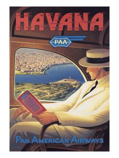 The Travel Tester vintage travel poster collection. It's time to get nostalgic with this week's retro destination: Vintage Travel Posters Cuba Old Posters, Art Deco Posters, Travel Ads, Airline Travel, Air Travel, Travel Photos, Cuba Travel, Mexico Travel, Vintage Films