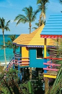 Harbour Island, Bahamas + Summer Vacay + Beach House + Tropical Colors..love this place.#goodbellysupplement