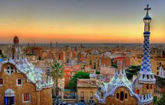 Top 10 Places To Spend The Holidays Around the World Barcelona <3