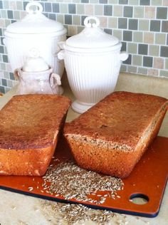 "Cuddle Up: Ezekiel Bread from Ezekiel 9 (NASV) ""But as far as you are concerned, take . - Vegan Baking - Make Bread Bread Maker Recipes, Flour Recipes, Raw Food Recipes, Healthy Recipes, Vegan Baking, Bread Baking, Ezekial Bread, Daniel Fast Recipes, Salads"