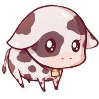 Kawaii cow by Dessineka{so cute i wanna throw up}