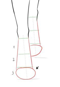 Divide the Centerline in 3 parts and draw the base shapes … How to draw front view shoes step 2 . In this step by step tutorial you will learn how to draw shoes from the front view. Draw boots, ballerina shoes and pumps for your fashion design sketches Illustration Techniques, Fashion Illustration Sketches, Illustration Mode, Fashion Sketches, Design Illustrations, Feet Drawing, Drawing Tips, Drawing Sketches, Shoe Drawing