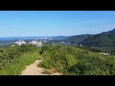 Dalmabong Peak & Ulsanbawi Rock in Gangwon Province, Korea - Summertime view from the scenic Misiryeong Ridge
