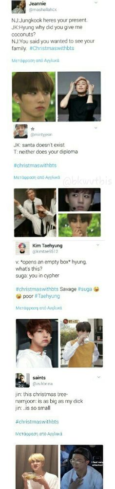 Poor kookie>> They are all so savage!! >> I know right i love em all
