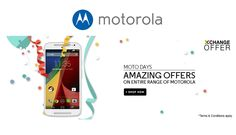#Motorola Amazing #Offer on Entire Range to Celebrate 1-Year Anniversary