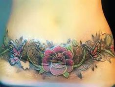 tattoos for tummy tuck scars 5 Belly Tattoos, Stomach Tattoos, Body Art Tattoos, Cool Tattoos, Tatoos, Hindu Tattoos, Ocean Tattoos, Ankle Tattoos, Awesome Tattoos