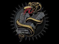 Dribbble - Vigilant snake V2 by Jared Mirabile