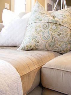 DIY Envelope Pillow Cover Tutorial