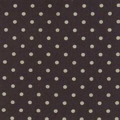 Momo - Linen Mochi Dot - Charcoal : Sew Modern
