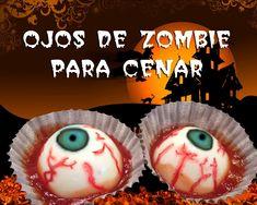 Recetas para Halloween: Deliciosos ojos de zombie para cenar. - YouTube