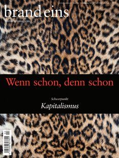 """only if your german is sufficient but we like this beautiful """"Wirtschaftsmagazin"""""""