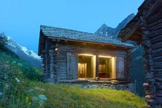 Stunningly inspirational architecture from around the world. If you love Architecture, then you will love this Piccsy stream. Ideas De Cabina, Alpine Lodge, Swiss Chalet, Barn Renovation, Wooden House, Image House, Architecture Details, Great Places, Switzerland
