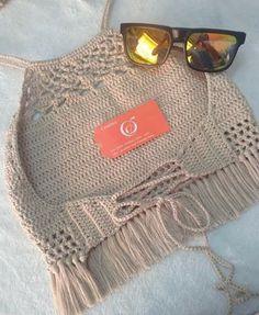 Crochet bikini swimsuit cheeky sexy lace beach gipsy boho summer swimwear - New Ideas Bikinis Crochet, Crochet Bra, Crochet Halter Tops, Crochet Bikini Top, Crochet Woman, Crochet Blouse, Crochet Clothes, Crochet Stitches, Crop Tops