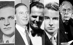 Unos indiscretos y alcohólicos espías conocidos como 'los cinco de Cambridge'