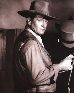 """The Comancheros"" (1962) - John Wayne as Texas Ranger 'Jake Cutter' - Directed by Michael Curtiz - 20th Century-Fox."
