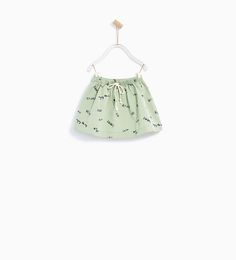ZARA - KIDS - TEXT PRINT SKIRT