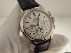 Patek Philippe White Gold Grand Complication White Dial 5270g-001