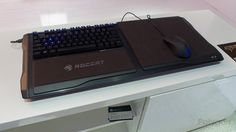 Roccat moves ahead with development of Sova, lapboard for living-room gaming