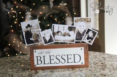 East Coast Creative: DIY Photo Block Display from Shanty-2-Chic, Cute, inexpensive Christmas Gift!