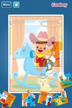 GazziliPuzzles by GazziliWorld [ages: 2+, iPad, iPhone] - 6 jigsaw puzzles. Original Appysmarts score: 80/100