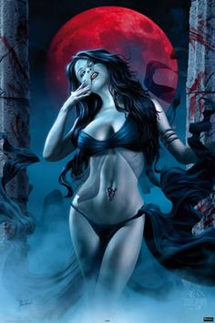 Vampire Fantasy Art | The Coolest Female Vampire Art Gallery