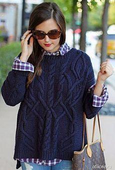 20 стильных вязаных вещей: вязаные свитера, вязаные пуловеры, кардиганы, кофты, платья и туники | otlicno.ru