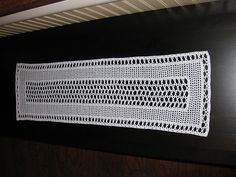 Lacet Table Runner #7001 pattern by The Spool Cotton Company