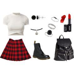 Grunge Grunge, Polyvore, Image, Fashion, Clothing, Moda, Fashion Styles, Fashion Illustrations, Grunge Style