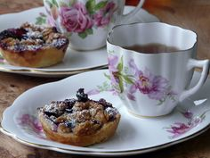 Thibeault's Table: Tea for Two--click on ea. ingred.  The crust......