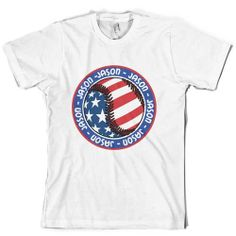 Patriotic Personalized Baseball Shirt