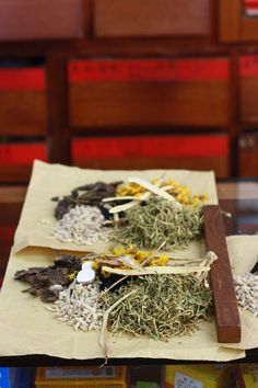 A visit to a Chinese Herbal Medicine Shop