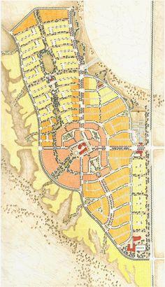 Nice Masterplan by Moule & Polyzoides | CIVANO NEW TOWN | Tucson, Arizona