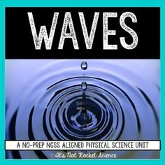 A COMPLETE waves unit covering nature and properties of waves, wave speed, frequency, wavelength, and period calculations, behaviors of waves, electromagnetic spectrum, and digital transmission.  This includes notes, labs, activities, game, quizzes, and tests, plus YouTube videos for each set of lecture notes. Perfect for teachers new to the subject, flipped classrooms, or going on maternity leave!