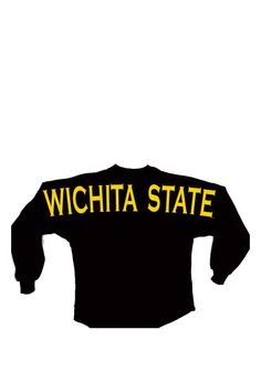 Wichita State Shockers Girls Long Sleeve Spirit Jersey http://www.rallyhouse.com/wichita-state-shockers-girls-black-spirit-jersey-long-sleeve-t-shirt-3180635?utm_source=pinterest&utm_medium=social&utm_campaign=Pinterest-WSUShockers $34.99