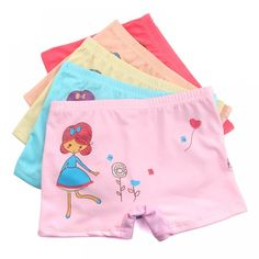 3Pcs/Lot Cute Breathable Cotton Girls Panties Children Underwear Briefs Mixed Color Baby Clothing For 6-12 Years Old  Price: 9.95 & FREE Shipping  #fashion #tech #home #lifestyle Cartoon Kids, Girl Cartoon, Girl Boxers, Girls In Panties, 12 Year Old, Kids Girls, Color Mixing, Girl Outfits, Underwear