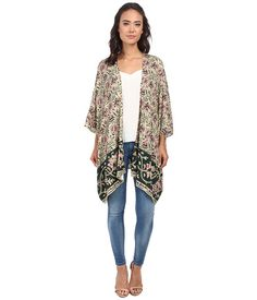 Chaser Oversized Kimono Top Tapestry - Zappos.com Free Shipping BOTH Ways