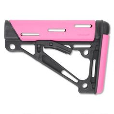 Hogue AR-15/M16 OverMolded Collapsible Buttstock Pink