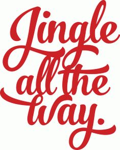 Silhouette Design Store - View Design #69867: jingle all the way