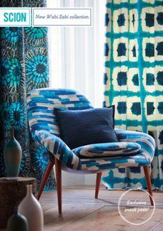 Summer Dreaming -- Scion Textile & Wallpaper Collection: Wabi Sabi