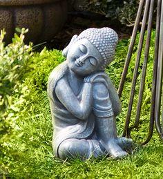 Resting Buddha Garden Statuary