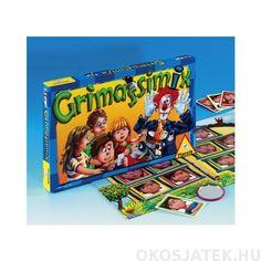 Grimassimix társasjáték Piatnik grimaszoljunk játék! (309) Pop Tarts, Cereal, Dj, Preschool, Snack Recipes, Comic Books, Packaging, Toys, Pink