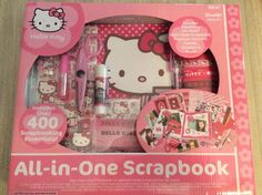 Hello Kitty All-In-One Scrapbook New Sanrio