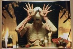 "Pan's Labyrinth ""Pale Man"" Movie Scene Digital Painting Poster 36x24"""