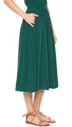 Sam & Lavi silk skirt
