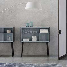 Sideboard with long legs / contemporary / ash / MDF KERMES by Evangelos Vasileiou CINNA