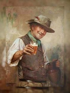 View Good health by Charles Spencelayh on artnet. Browse upcoming and past auction lots by Charles Spencelayh. Arte Peculiar, Beer Pictures, Beer Art, Sculptures For Sale, Grafik Design, Vintage Art, Original Artwork, Sketches, Photoshop